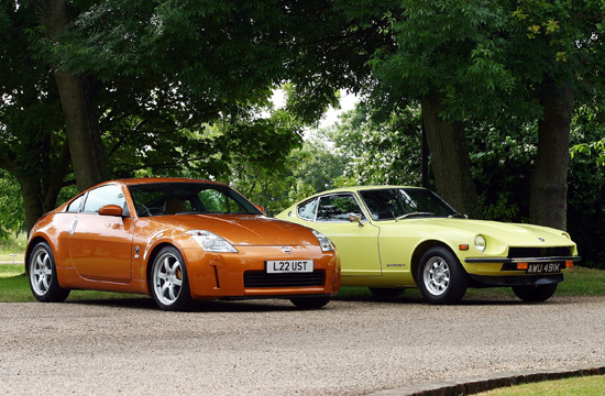 nissan-350z-and-datsun-240z